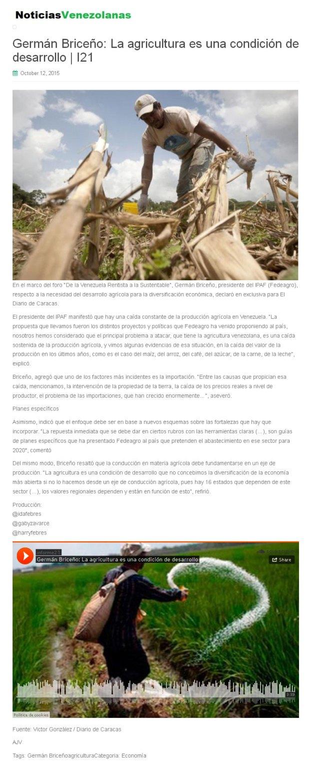Noticias Venezolanas